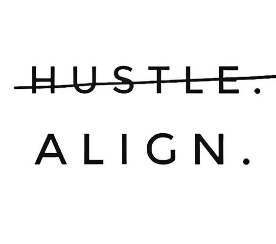 The Hustle. The Grind. The Busyness.