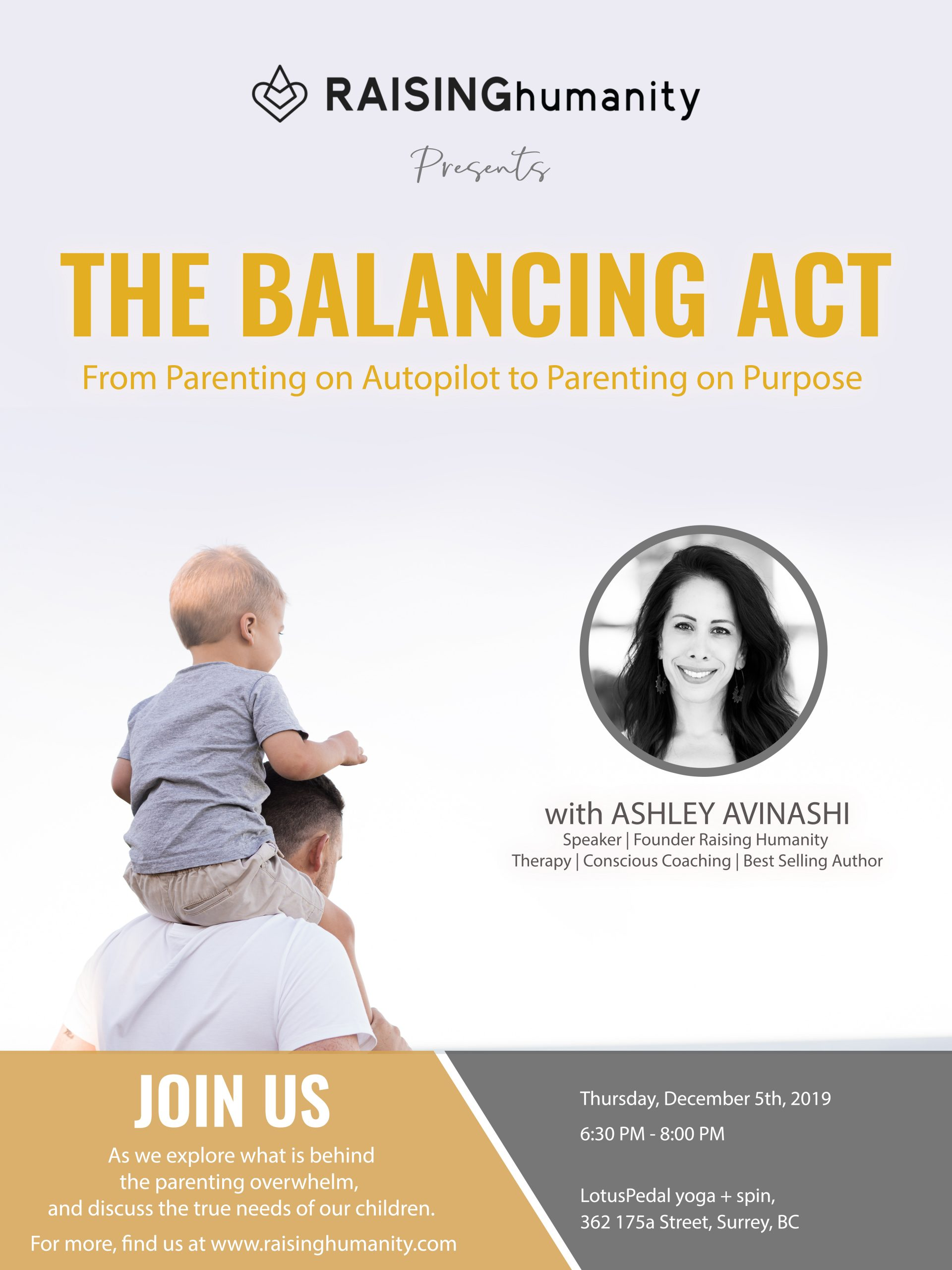 The Balancing Act: From Parenting on Autopilot to Parenting on Purpose